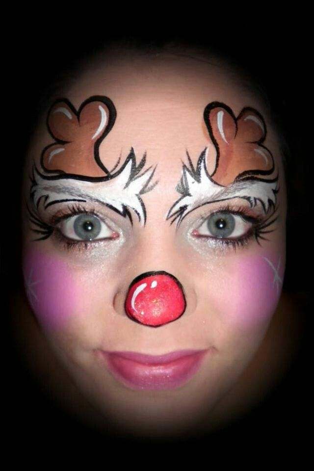 Extrêmement Les 25 meilleures idées de la catégorie Maquillage noel sur  LY28