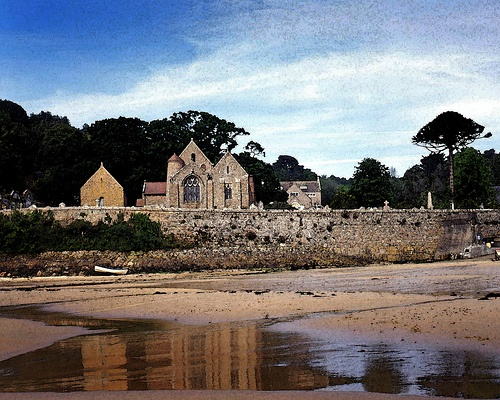 Jersey Channel Islands St. Brelade's Church by Beechwood Photography, via Flickr