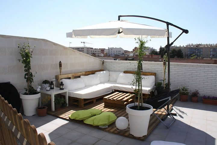 Terrazas en azotea interiorismo interior design 04 - Luces de terraza ...