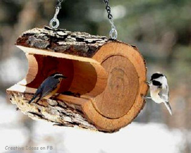 Gezellig voor de vogels in je tuin!                                                                                                                                                                                 More