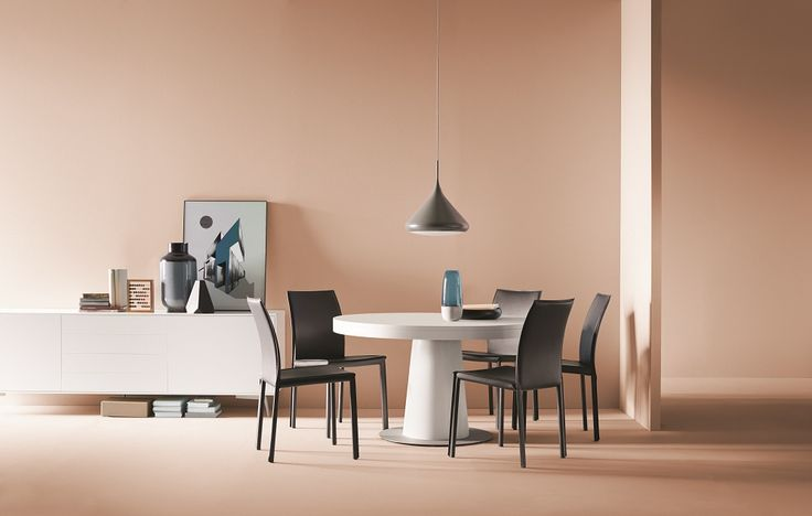 The Round Granada Dining Table Pink Pinterest