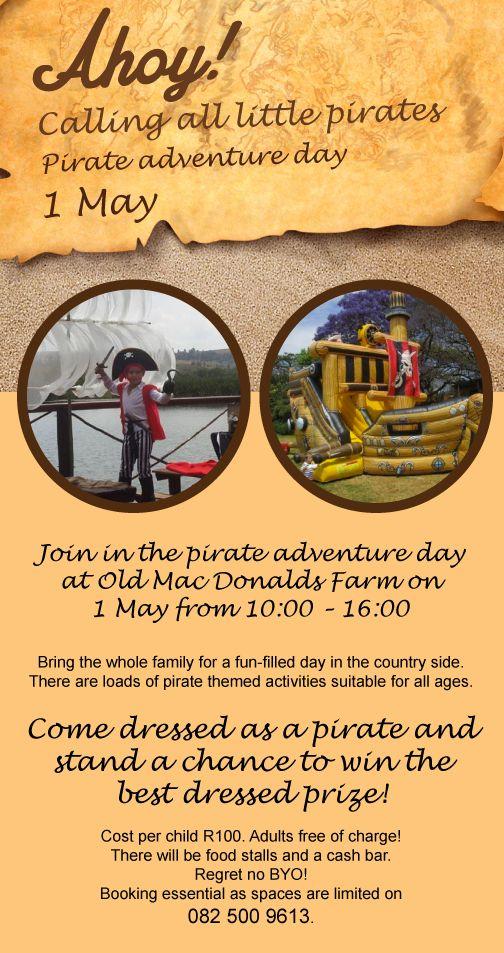 Pirate Adventure Day!
