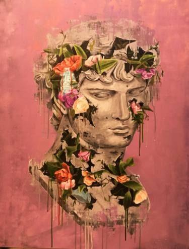 "Saatchi Art Artist sage -; Painting, ""RUINS #1"" #art"