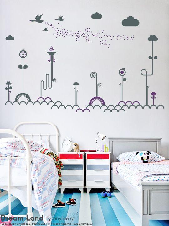Dream Land - Wall Sticker | Vinylize Wall Deco