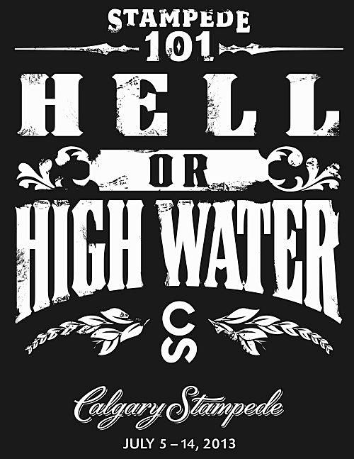 2013 Calgary Flood - love these t-shirts - all proceeds go to the Red Cross to support flood victims!