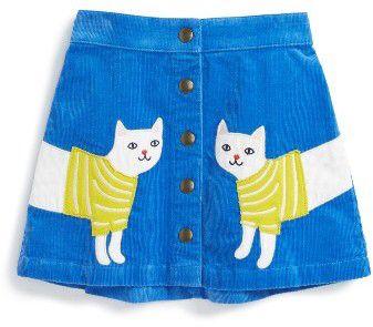 Girl's Mini Boden Applique Skirt