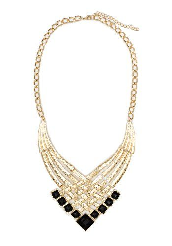 2B Plated Lattice Necklace 2b Jewelry Gold/black-1sz 2b by bebe,http://www.amazon.com/dp/B00HFTUP36/ref=cm_sw_r_pi_dp_mRBWsb038H6WM9TZ