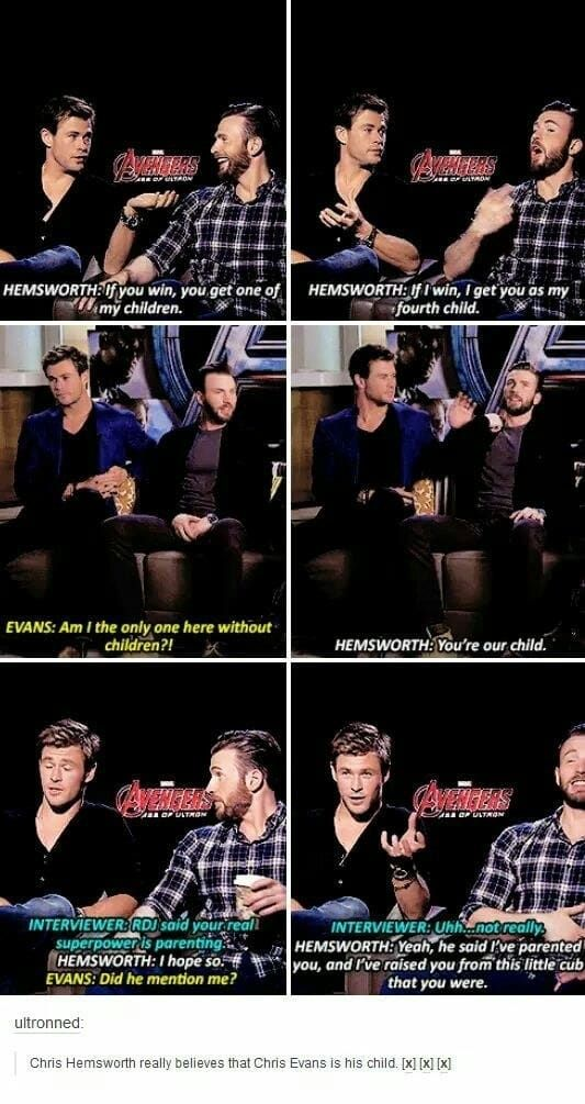 23 Tumblr Posts That Prove Chris Hemsworth Is Actually Funny