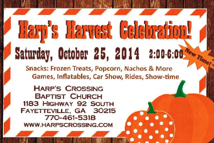 Who doesn't love a harvest celebration? http://on.fb.me/1sNGCWc