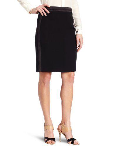 Anne Klein Women`s Petite Tuxedo Skirt $54.45