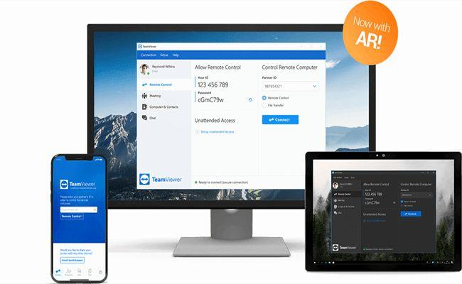 تحميل برنامج تيم فيور Teamviewer للكمبيوتر برابط مباشر In 2020 Computer Device Management Remote