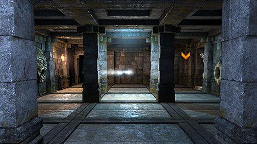 3D hall way.   http://guides.gamepressure.com/legendofgrimrock/gfx/word/-1859121078.jpg