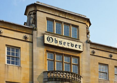 Old Observer Office Sign, Walsall