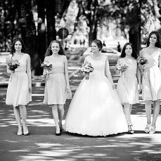#Love #cute #lovely #flowers #happiness #wedding day #church #bridesmaids #girls #pink  #blue #green #violet