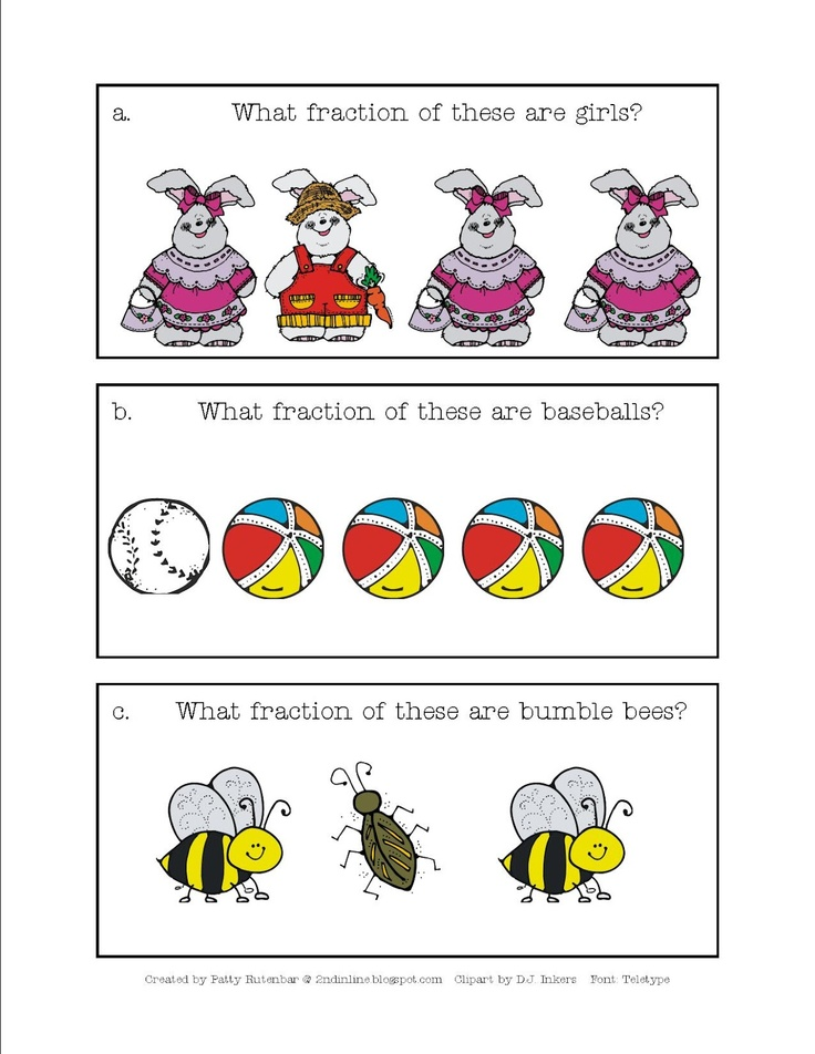 fractions worksheets Free Printable primary school write – Fractions of a Set Worksheets