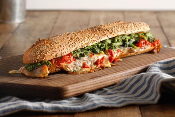Italian Sandwich Mecca Alidoro Serves Its First Hot Hero -- Nicola: porchetta, broccolini, Piave cheese, hot spread