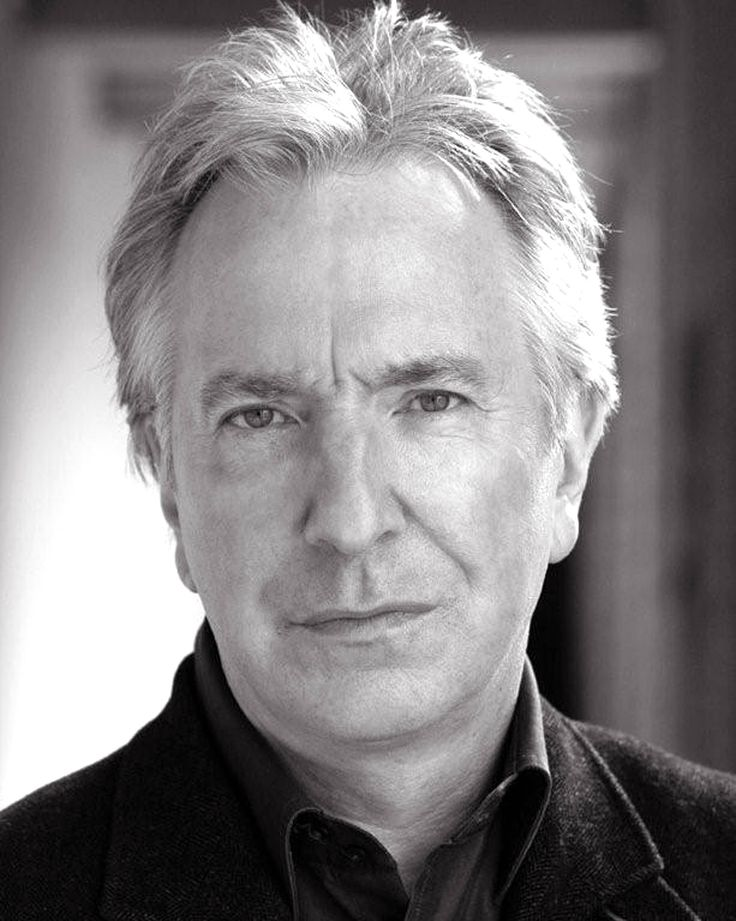 Alan Rickman (1946) is an English actor. Rickman is a former member of the Royal Shakespeare Company in both modern and classical theatre productions. Rickman has won a BAFTA Award, a Golden Globe Award, an Emmy Award and a Screen Actors Guild Award. He has been nominated twice for a Tony Award and several times for a BAFTA Award.