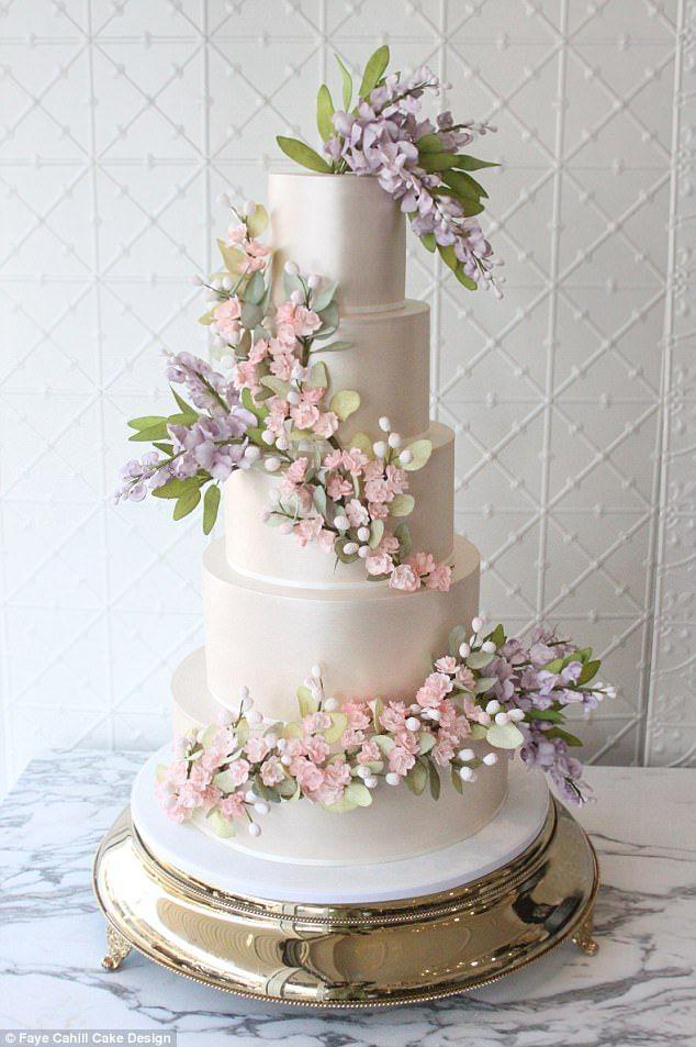 Wedding Cake Designer Reveals The Top Trends For 2018 Cakes