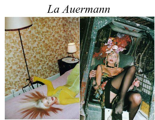 Nadja Auernann by Helmut Newton
