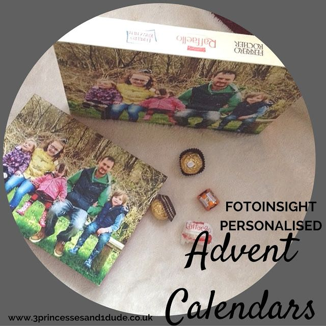 3 Princesses and 1 Dude!: Fotoinsight Personalised Advent Calendars