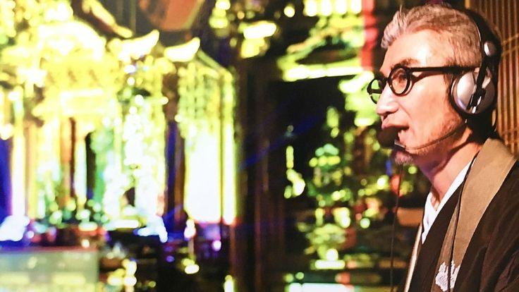 Video of Japanese Buddhist DJ Gyosen Asakura's techno service went viral on social media.