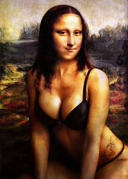 Mona Lisa Naked 32