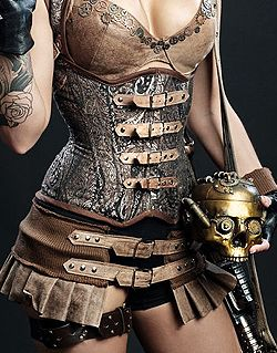 Steampunk - ✯ http://www.pinterest.com/PinFantasy/lifestyles-~-steampunk-fashion-fantasy/