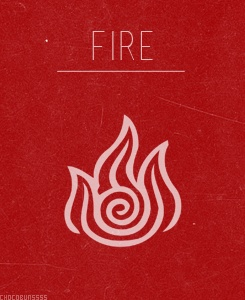 Celtic Element Symbol<< I didn't know the Fire Nation was Celtic :p
