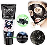 #10: Mousand Blackhead Remover MaskBlackhead Purifying Peel Off MaskActivated Charcoal Blackhead Exfoliators Remover Clear Mask Black Mud Pore Removal Strip Mask For Face Nose Acne Treatment