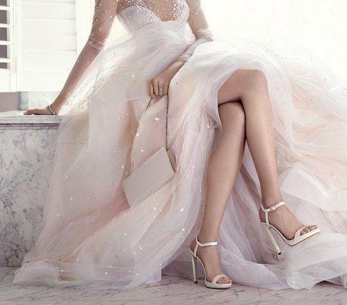 In euren Brautschuhen solltet ihr gut laufen können