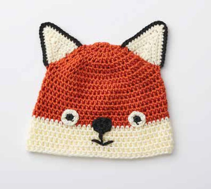 1000+ ideas about Fox Hat on Pinterest Crochet baby hats, Fox scarf and Cro...