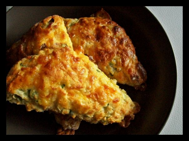 Cheddar Cheese and Chives Scones