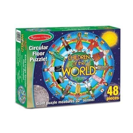 Children Around the World Floor Puzzle, 48 pieces Floor