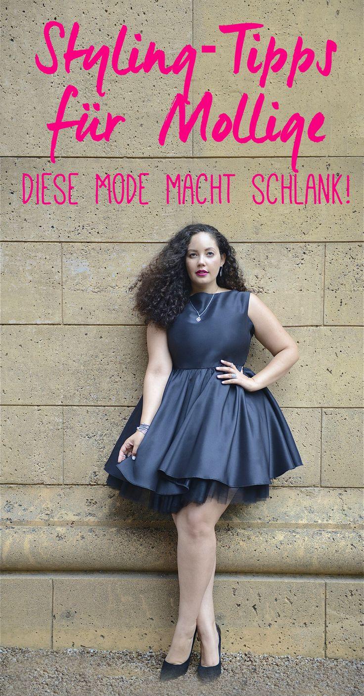 Styling-Tipps für Mollige auf gofeminin.de