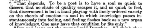 From Middlemarch by George Eliot