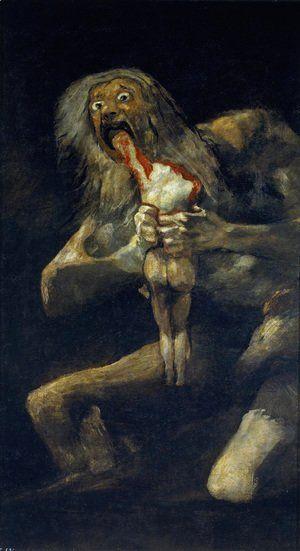 Goya - Saturn Devouring His Sons