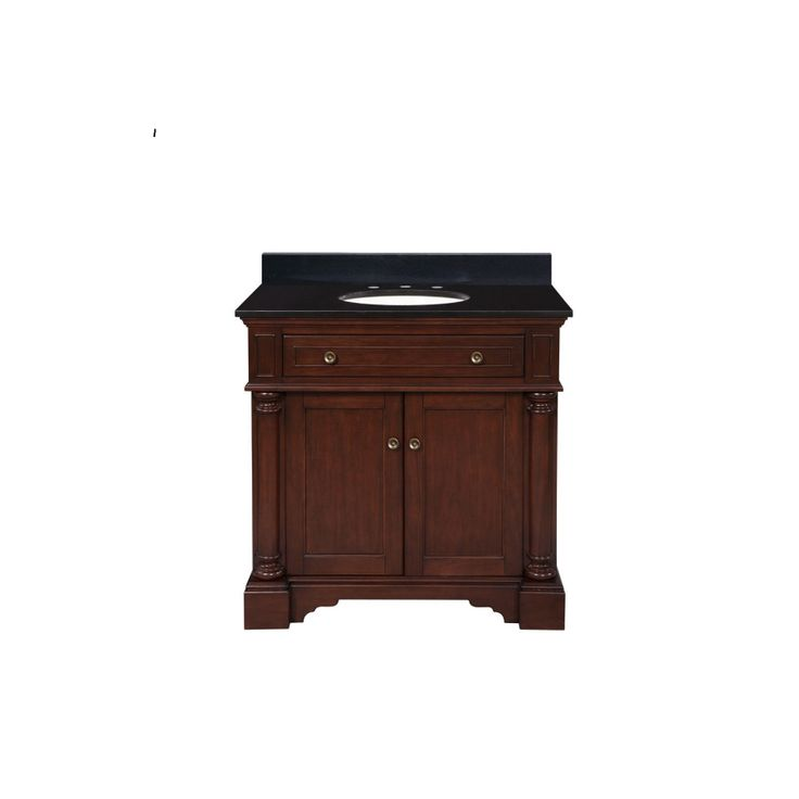 Inch bathroom vanity with top jpg cornell 30 inch bathroom vanity with - Allen Roth Auburn Single Sink Bathroom Vanity With Top