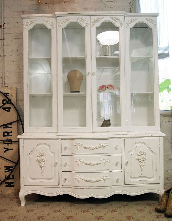 painted cottage furniture158 best Painted Cottage China Cabinets images on Pinterest
