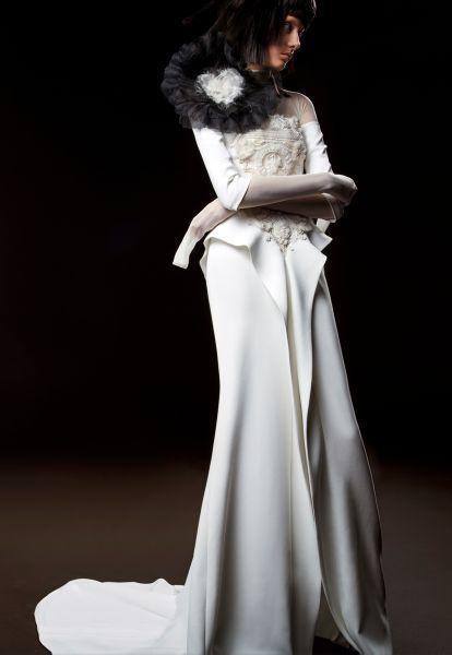 Robes de mariée Vera Wang 2018 : une collection atypique et totalement différente Image: 9