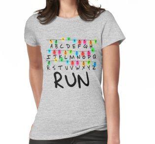 """Stranger Things"" - RUN T-Shirt"