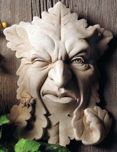 Buzz Of Greenman Wall Plaque, Thereu0027s One In Every Crowd. A Garden Face  Sculpture With Some Attitude.