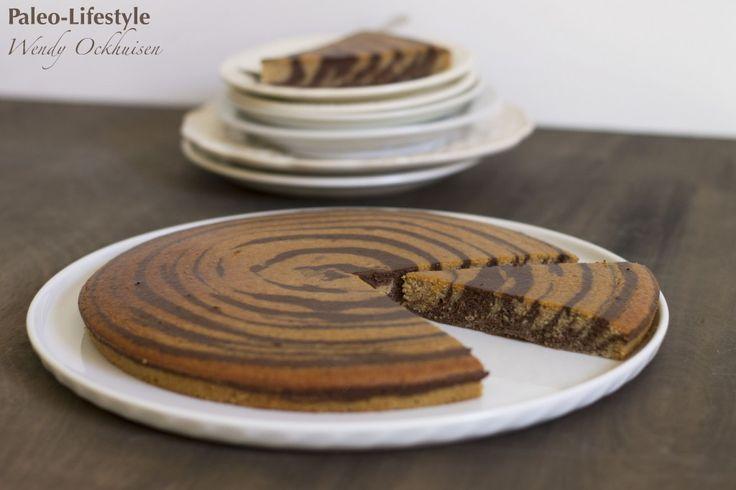 Chocolade marmercake