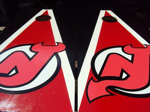 new jersey devils cornhole boards - Cornhole Sets