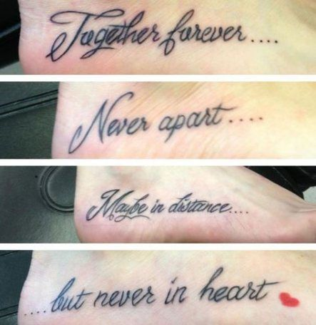 59+ Ideas Tattoo Mother Daughter Quote Sister Tat For 2019