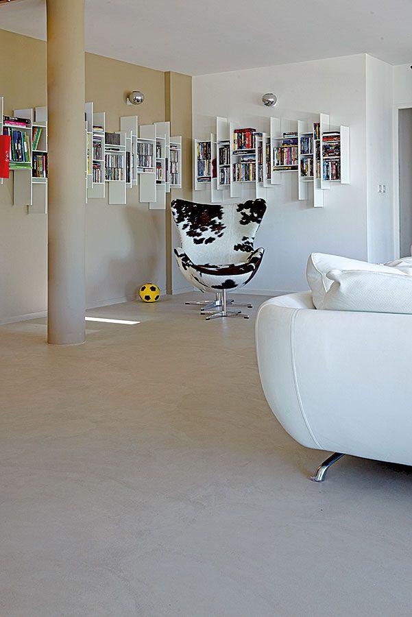 sol couloir RDC à mixer avec carreaux de plâtre