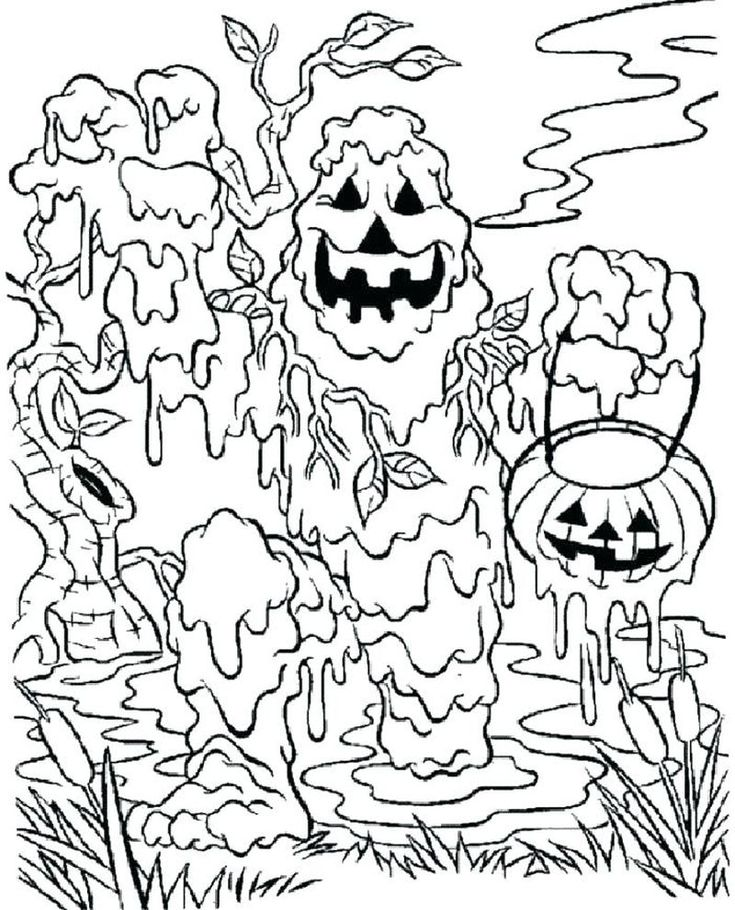 Have A Fun With Zombie Coloring Pages | Monster coloring ...