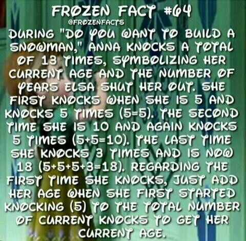 """Mind blown. Did anyone else start singing, """"Elsa? Please, I know you're in there..."""""""