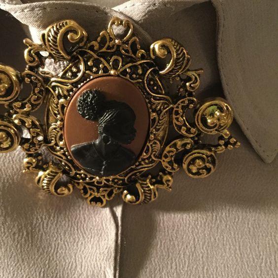 Vintage brooch for women