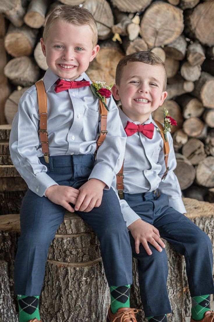 4dd81470f17b Burgundy Bow Tie and Leather Suspenders, Baby Bow Tie Suspenders Set, Boys  Suspenders Bow Tie, Ring Bearer Outfit, Burgundy Wedding Outfit, Holiday  Outfits, ...