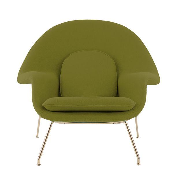 accessoires d co le kaki en vedette fauteuil womb d cormag accessoires d co d cormag. Black Bedroom Furniture Sets. Home Design Ideas
